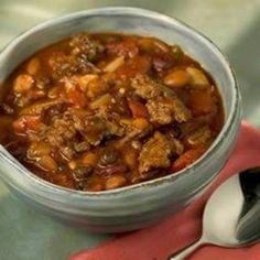 Three Bean Slow Burn Chili