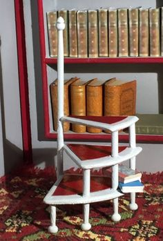 Dollhouse Wooden Outdoor Sport Game Croquet Shelf 1:12 Miniature Accessories