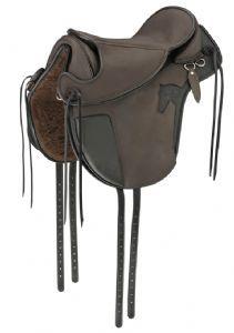 I have the Barefoot Cherokee treeless saddle . Best saddle ever!