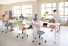 Desking systems | Desk systems | get together | Sedus Stoll. Check it out on Architonic