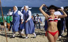 Ooo... Ooo... Pope in Rio! | A esculhambação nos define como nação (via @osimprao)