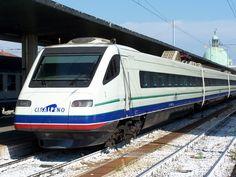 """ETR 470 """"CISALPINO"""" in Venezia Santa Lucia station"""