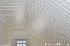 DIY: How to Install Beadboard on Walls and Ceilings - House Updated