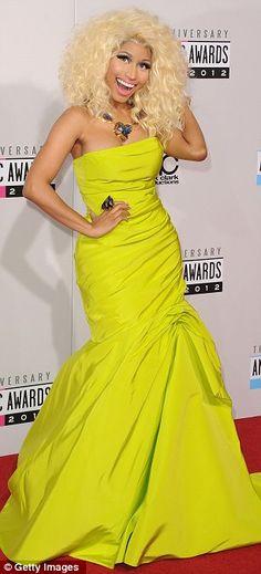 Worst Dressed of American Music Awards 2012 - #NickiMinaj