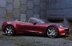 Fisker Karma  ... Uploaded with Pinterest Android app. Get it here: http://bit.ly/w38r4m