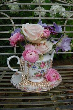 Teacup florals, Gorgeous More