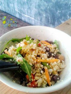 Missgreen csicseriborso kuszkusz salata