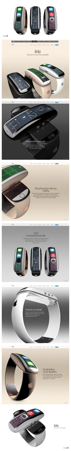 iMe: Apple Wearable Device Concept [Images]