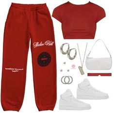 Baddie Outfits Casual, Cute Lazy Outfits, Swag Outfits For Girls, Teenage Girl Outfits, Cute Swag Outfits, Teen Fashion Outfits, Teenager Outfits, Retro Outfits, Stylish Outfits
