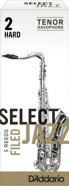 RICO JAZZ SELCT RSF05TSX2H #2H Filed Tenor Saxophone Reeds, Box of 5