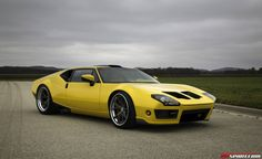 Photo gallery with 13 high resolution photos. Check out the De Tomaso Pantera by Ringbrothers  images at GTspirit.