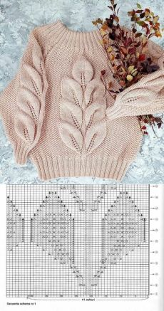 Sweater Knitting Patterns, Lace Knitting, Knitting Stitches, Crochet Baby, Knit Crochet, Winter Time, Winter Months, Knit Fashion, Baby Sweaters