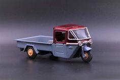 1960s Mazda 3-Wheel Pick-Up Truck Cart, Bandai Tin Litho metal toy by TintageCars on Etsy https://www.etsy.com/listing/504565152/1960s-mazda-3-wheel-pick-up-truck-cart