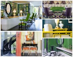 There's so much we love about all the designs here, especially the contrasting colors. Glam it up baby, glam it up!