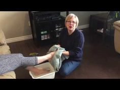 """Enjoying the Journey Video # 46 """"Washing Feet"""" by Susan Waters from www...."""