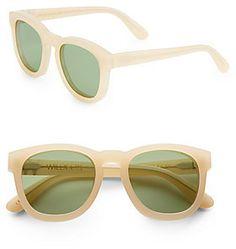 Classic Fox 49MM Wayfarer Sunglasses #sunglasses #womens #summer
