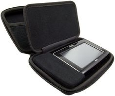 iTrek Extra Large Hard Shell Case for Garmin TomTom Magellan GPS Black >>> Want additional info? Click on the image.