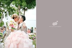 michelle   danh | destination wedding | four seasons jimbaran bay | bali indonesia | bride and groom portraits after ceremony
