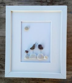 Pebble art birds family3 Family birds3 Home by pebbleartSmiljana