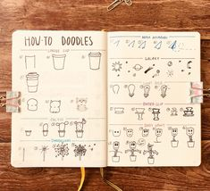 Lots of Cute Doodles anyone can Make Like this Bujo Spread Including Cactus, Cats, and Baby Groot. Bullet Journal Simple, Bullet Journal June, Bullet Journal Quotes, Bullet Journal Layout, Bullet Journals, Little Doodles, Cute Doodles, Easy Doodles, Doodle For Beginners