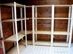 fascinating ikea garage shelving finished ikea shelves garage iamsaulcom furniture inspiration
