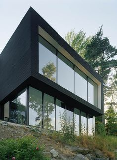 Widjedal Racki Bergerhoff Architects have designed the Casa Barone in Ingarö-Evlinge, Sweden.