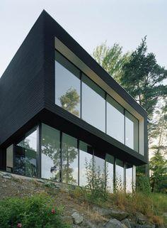 Widjedal Racki Bergerhoff Architects have designed the Casa Barone in Ingarö-Evlinge, Sweden.