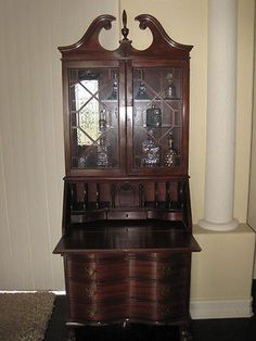 Secretary Desk, Traditional Style With Claw Feet. $534