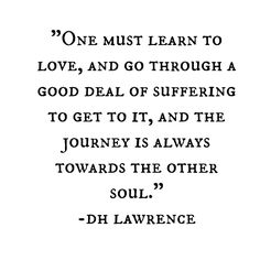 To feel love for them no matter what.  When love is in my heart all is clear and good!! :) It's cool!! DH Lawrence