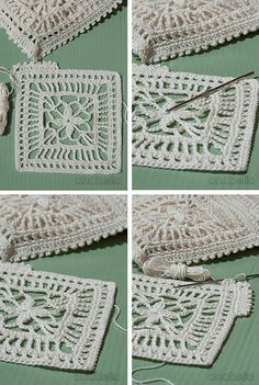 Anabelia craft design: New crochet motif, new project in progress and blogs summer project round-up