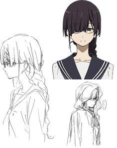十文字かほ Manga Art, Anime Manga, Anime Art, Character Concept, Character Art, Concept Art, Cute Characters, Anime Characters, Kyoto Animation