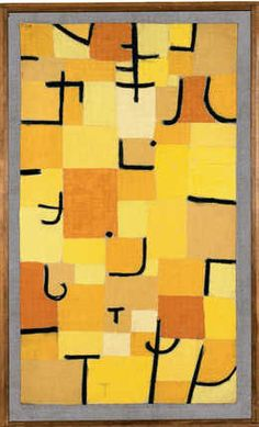 Paul Klee, 'Zeichen in Gelb (Signs in Yellow),' 1937, Fondation Beyeler
