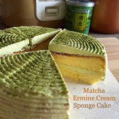 My Mind Patch: Mini Rice Cooker Matcha Ermine Cream Sponge Cake