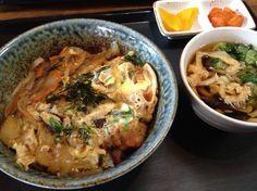 2014.12.2 점심. 가츠동