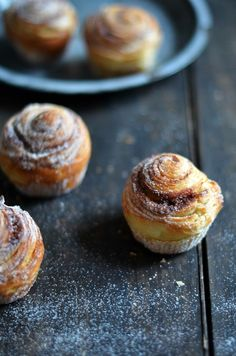 {Christmas Nosh} My Union Jack: Pain au Chocolat Cinnamon Rolls