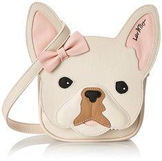 WOOF WOOF! Love my New Pug Bag By LUV BETSEY -Betsey Johnson - LB Roxy Crossbody