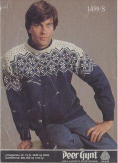 Peer Gynt 1459 S Haugseter | Stoff & strikk Men Sweater, Sweaters, Fashion, Moda, Fashion Styles, Men's Knits, Sweater, Fashion Illustrations, Sweatshirts