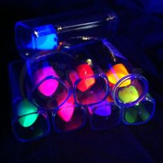 UV Neon Lipsticks 8 pack Glow in the Dark