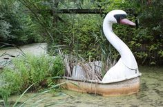 Former owner Norbert Witte shipped six of Spreepark's main attractions to Peru...