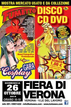 Mostra mercato del fumetto e del disco a Verona Fiere @gardaconcierge