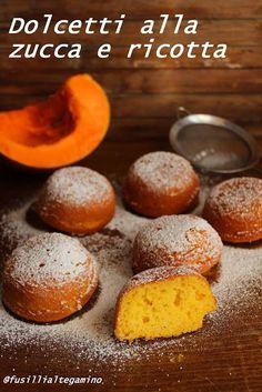Cooking Pumpkin, Pumpkin Recipes, Delicious Desserts, Dessert Recipes, Yummy Food, Ricotta, Pumpkin Roll Cake, Eating Light, Healthy Cake