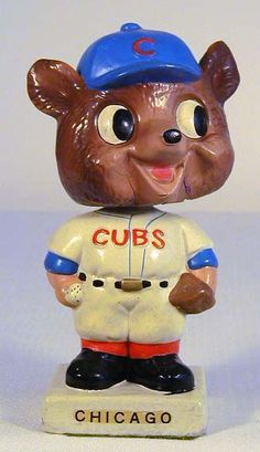 1961-63 Chicago Cubs Bobble Head Doll