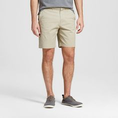Men's 8 Club Shorts Khaki (Green) 40 - Merona
