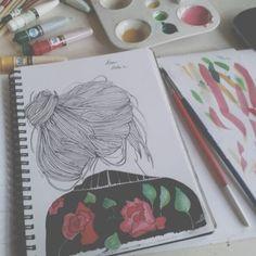 Drawings   via Tumblr                                                                                                                                                                                 Mais