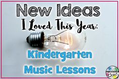 Organized Chaos: Teacher Tuesday: new ideas for kindergarten lessons