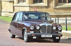 dailymail:  Easter Service, St. George's Chapel, Windsor, March 27, 2016-Princess Royal arrived by car like her mother