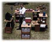 Camp kitchen, chuck box, patrol box design, build and outfit books.