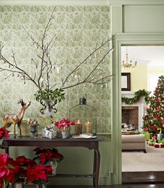 Fresh Home Decorating with Branches