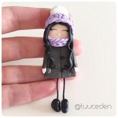 Tuuceden polymer clay girl