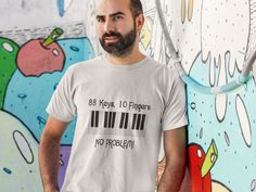 This makes a perfect gift for family and friends or a great design for yourself. Choose from tees or sweatshirts. *Exclusive Design - Not sold in stores! T-shirts raise awareness, boost spirits and create lasting connections! #piano #man #music #lover #keyboard #tshirt #tees #clothing #clothes #apparel @teespring